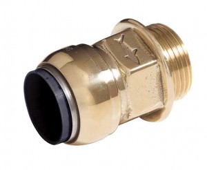 Male Connector Parallel Thread LR